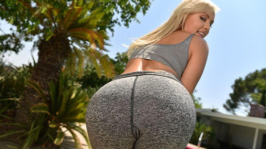 Big Ass Yoga Pants Candid