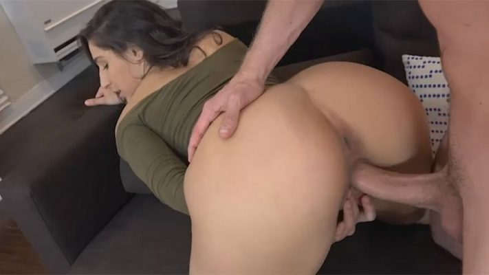 Girlfriend Films Porn with a Man for Revenge